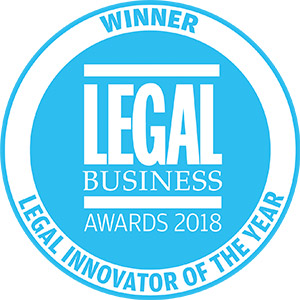 Legal Business Awards 2018 - Legal Innovator of the Year